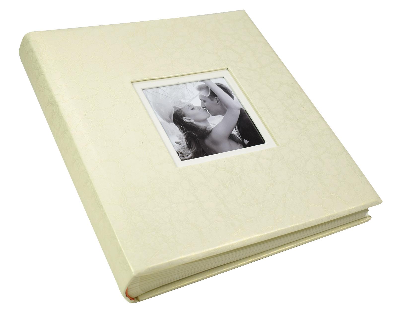 Duży Wklejany ALBUM LUX Ślub SZYTY 29x32 100 str