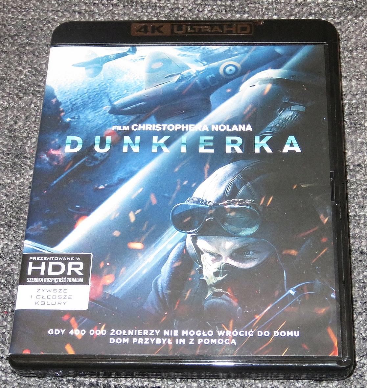 Blu-Ray 4K UHD HDR: Dunkierka (2017) Dunkirk PL
