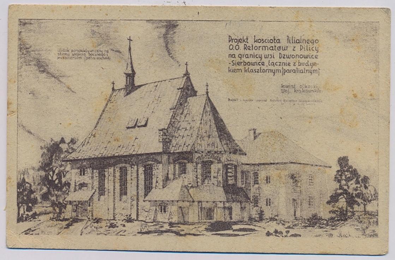 Dzwonowice Sierbowice k. Olkusz Kościół h220
