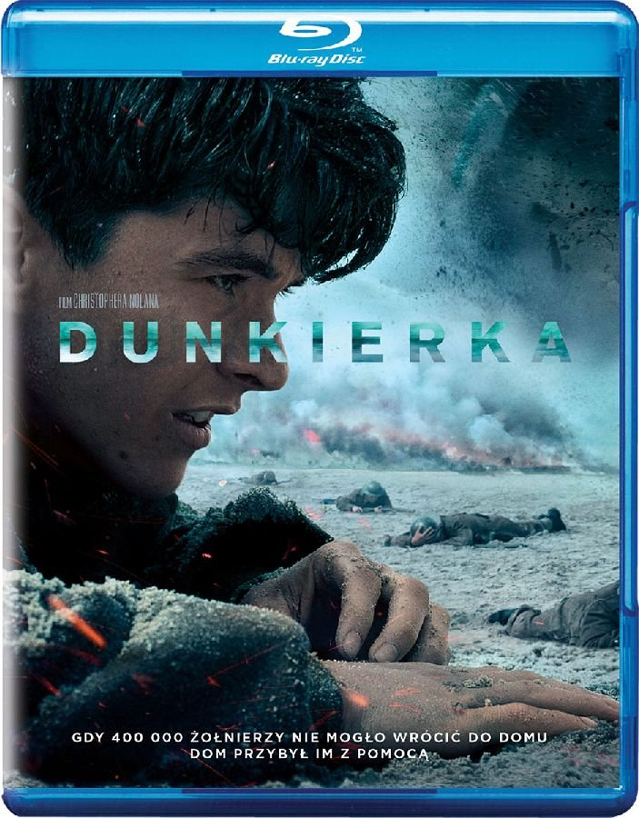 DUNKIERKA Blu-ray FOLIA