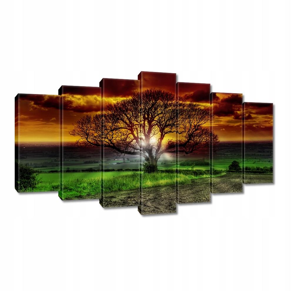 Obrazy 140x80 Magiczne drzewo kraj pejzaż