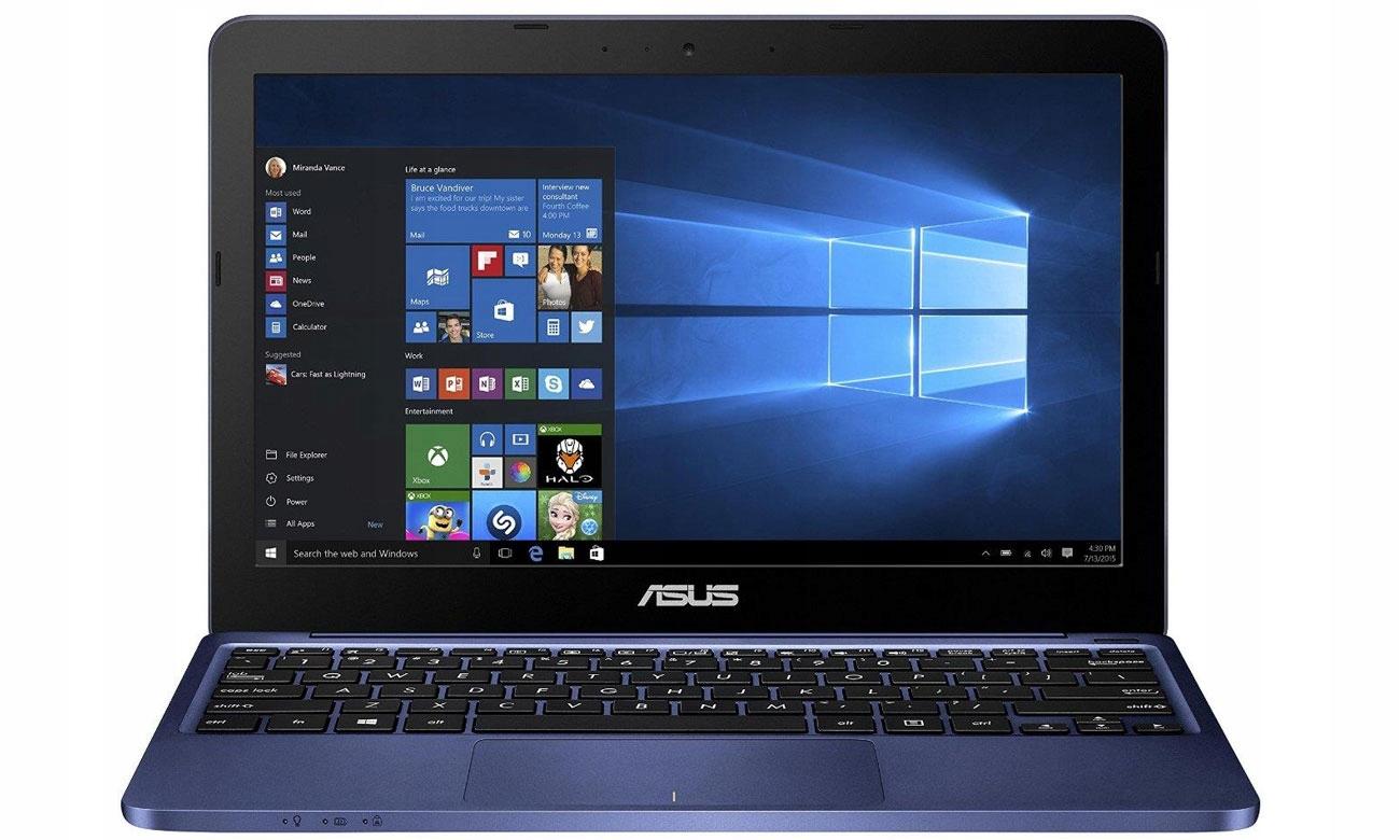 Laptop Asus E200H 11,6' x5 4x1,84GHz 4GB RAM FV23%