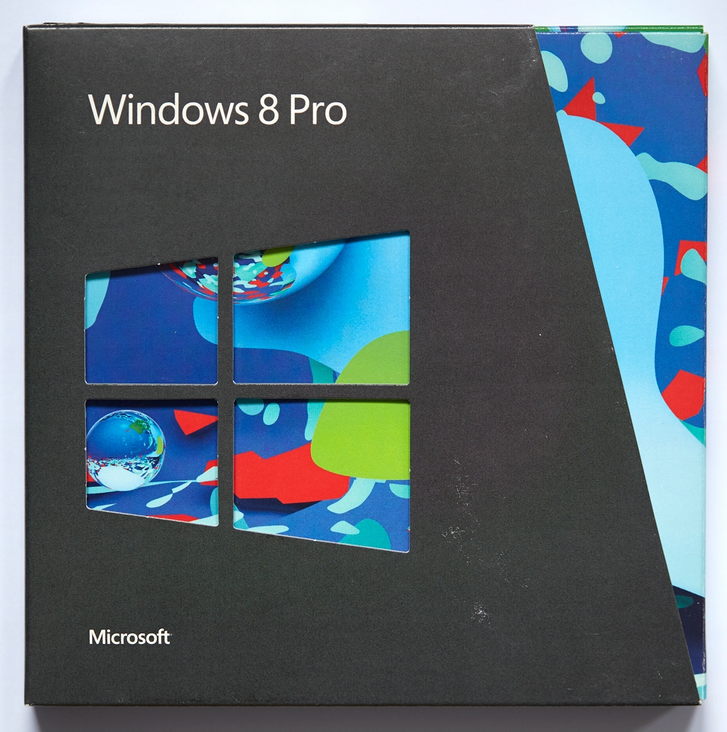 Windows 8 / 8.1 Pro BOX PL upgrade real foto
