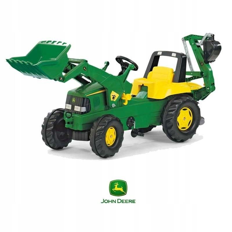 Rolly Toys rollyJunior Traktor na Pedały John DEER