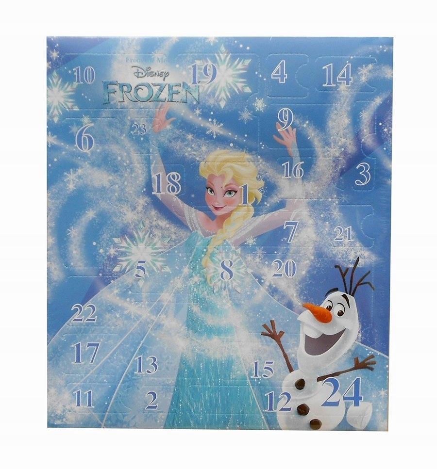 Kalendarz adwentowy z akcesoriami do włosów Frozen
