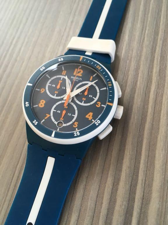 Nowy zegarek SWATCH chrono SUSN403 whitespeed