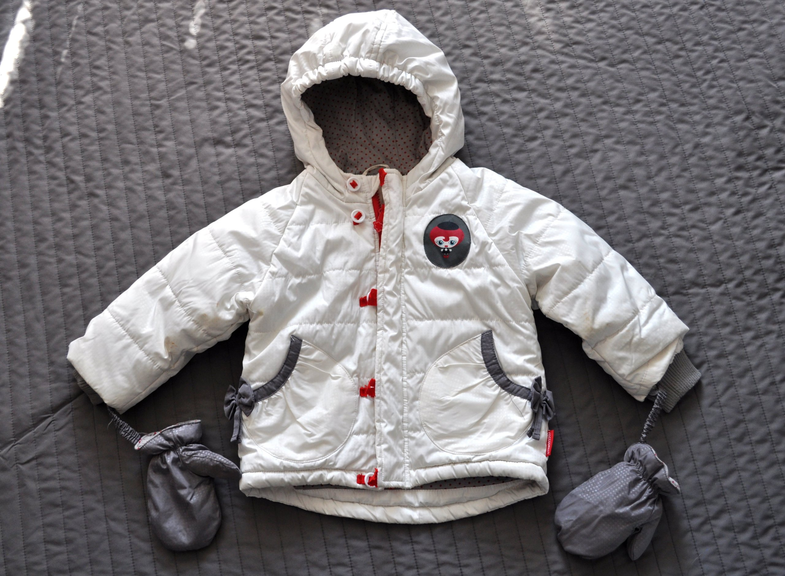 023c7c60ecda7 Kurtka zimowa COCCODRILLO zimowa 86 cm 18 mies - 6986314766 ...