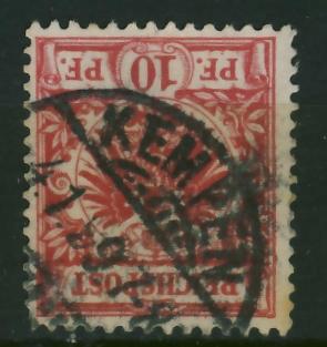 Kempen 1897 r - stempel na zn. niemieckim