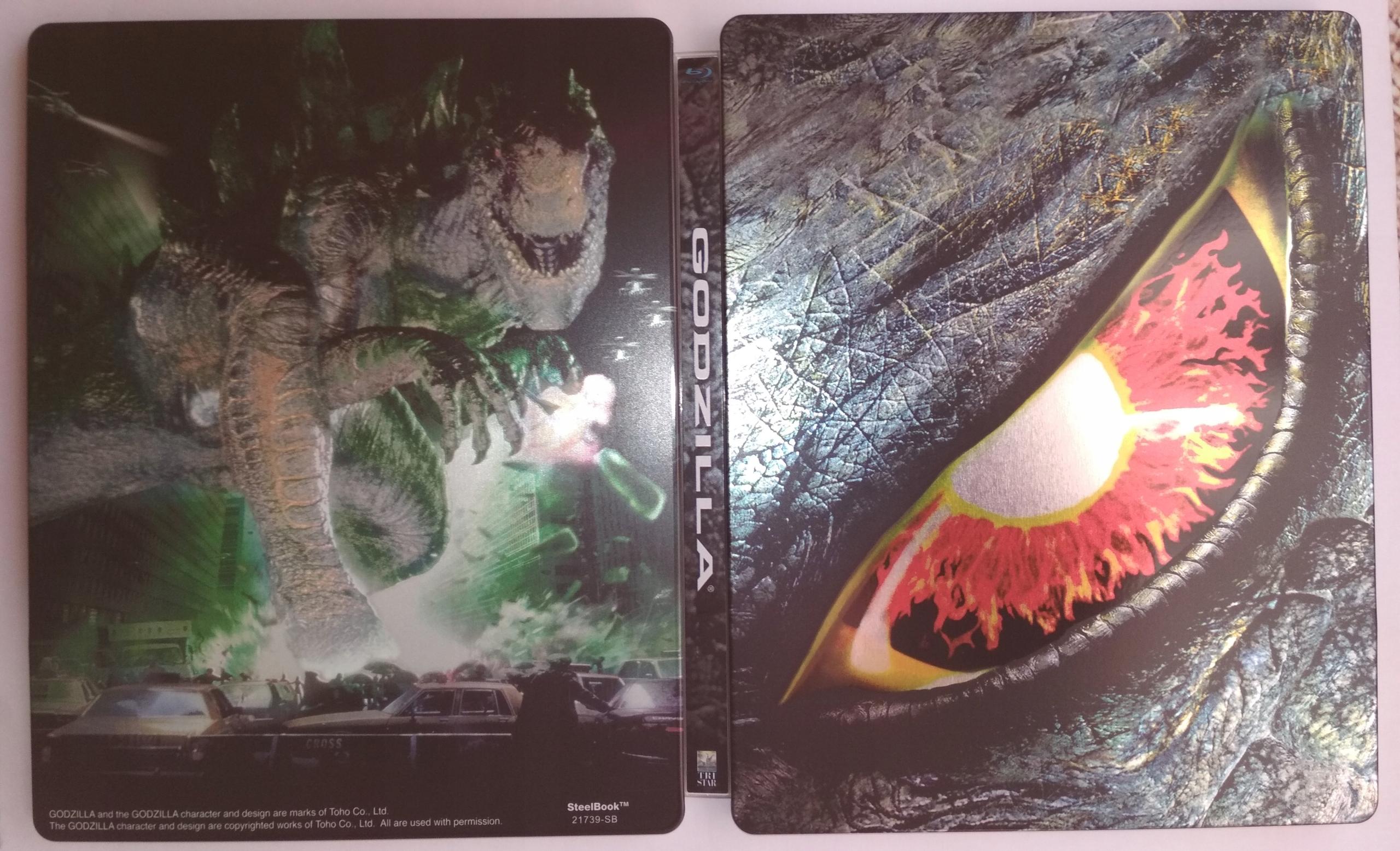 Godzilla 1998 = 4K = Stellbook = PL = Unikat