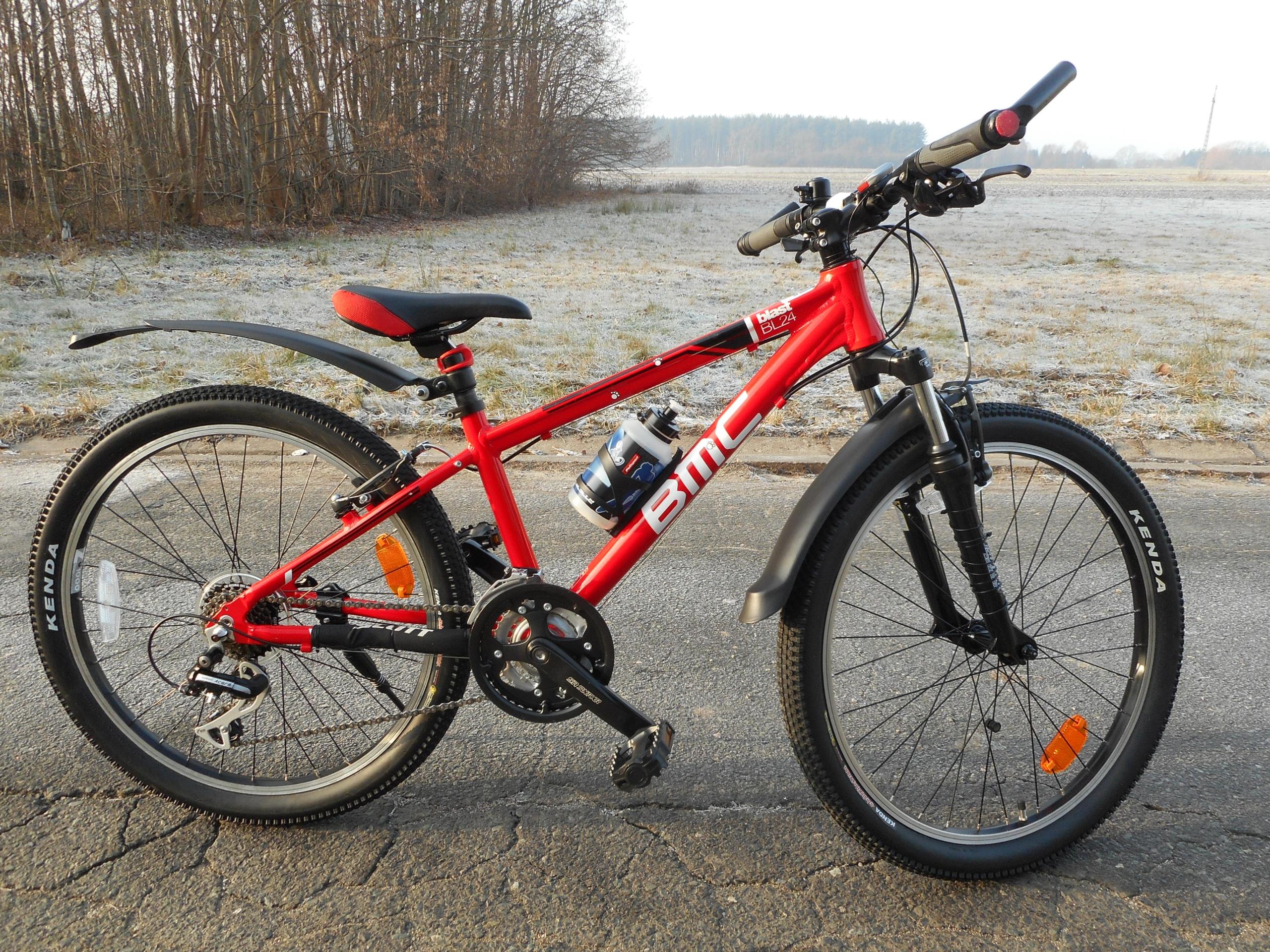 Firmowy rower BMC koła 24 21 biegów idealny