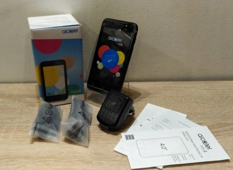 ALCATEL ONE TOUCH PIXI4 KOMPLET/pab