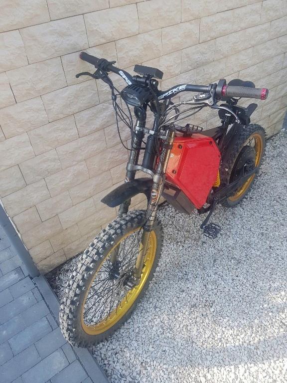e bike , rower elektryczny , nie falcon