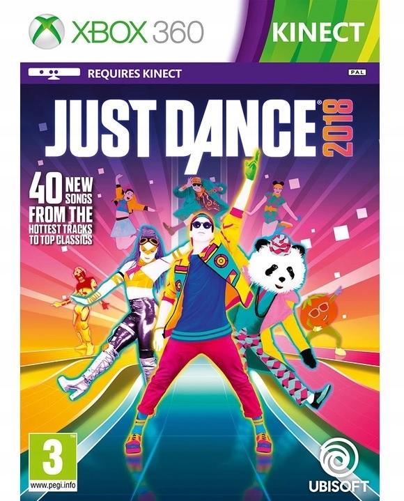 Gra Just Dance 2018 XBOX 360 KINECT