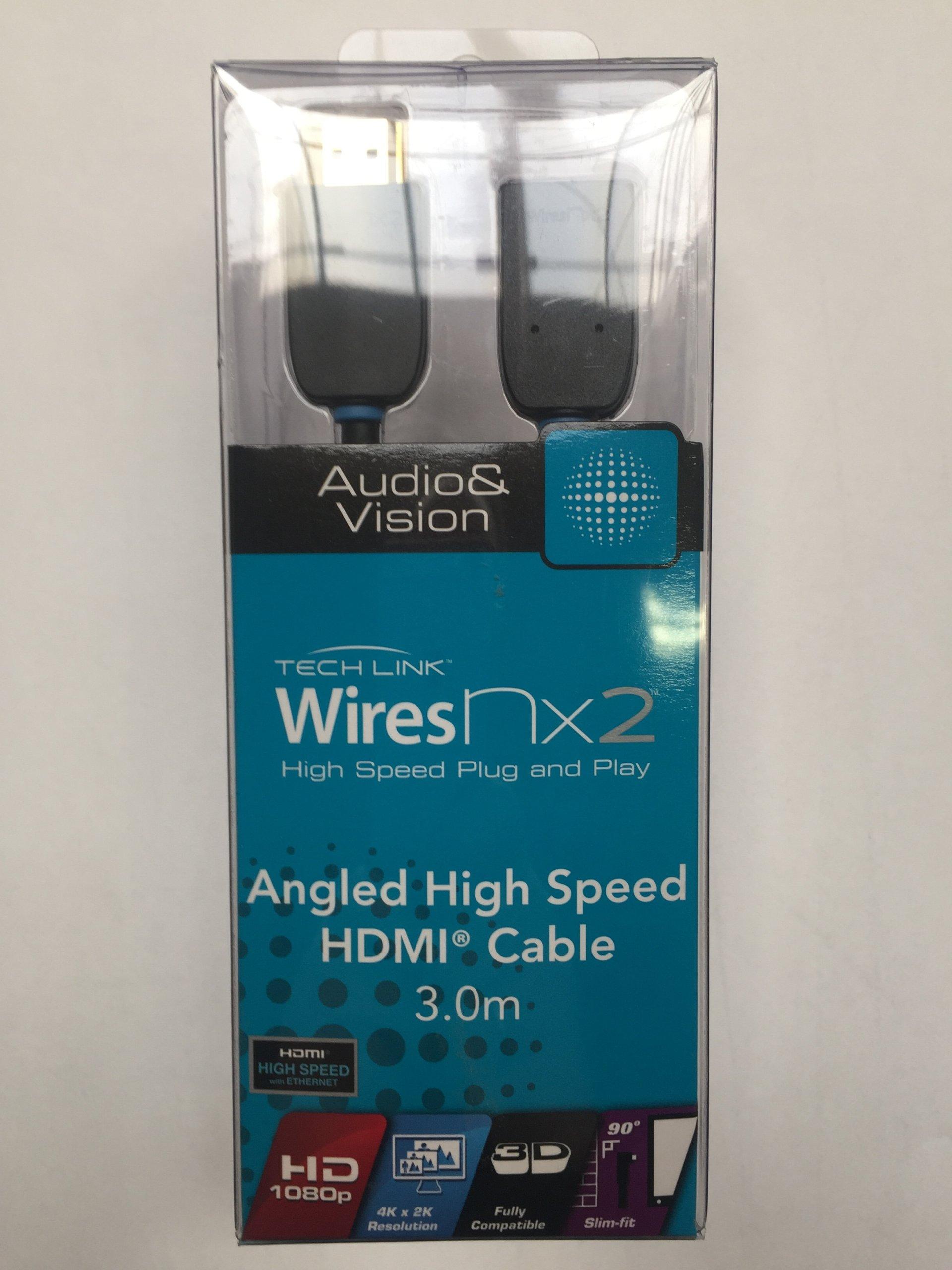 710493 TECHLINK KĄTOWY kabel HDMI 4K 2160p 3m
