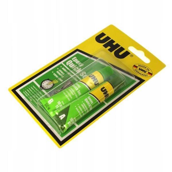 Klej epoxydowy UHU Quick Set 2x10ml. U37555