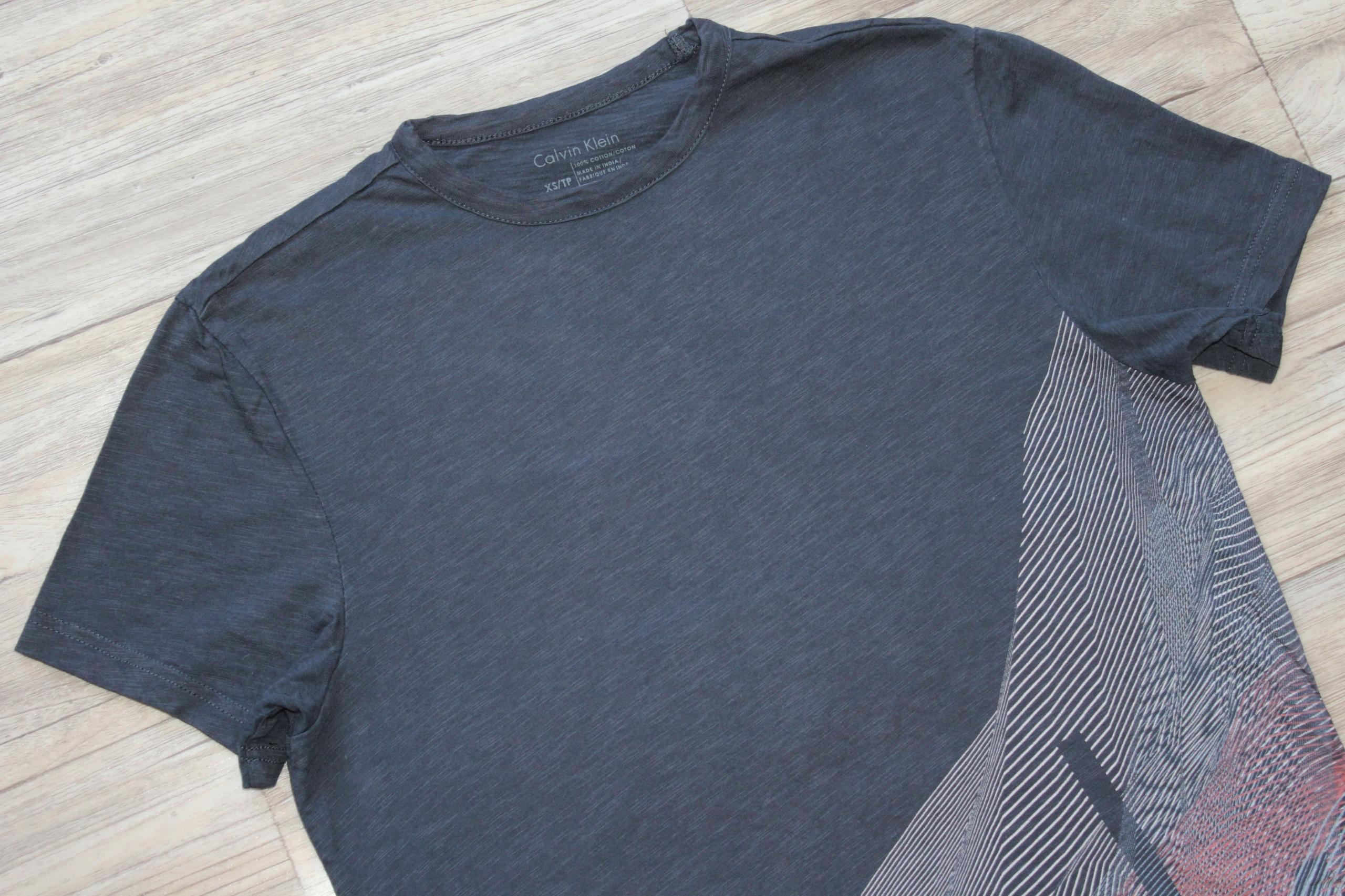 Bluzka koszulka t-shirt Calvin Klein CK bdb XS 34