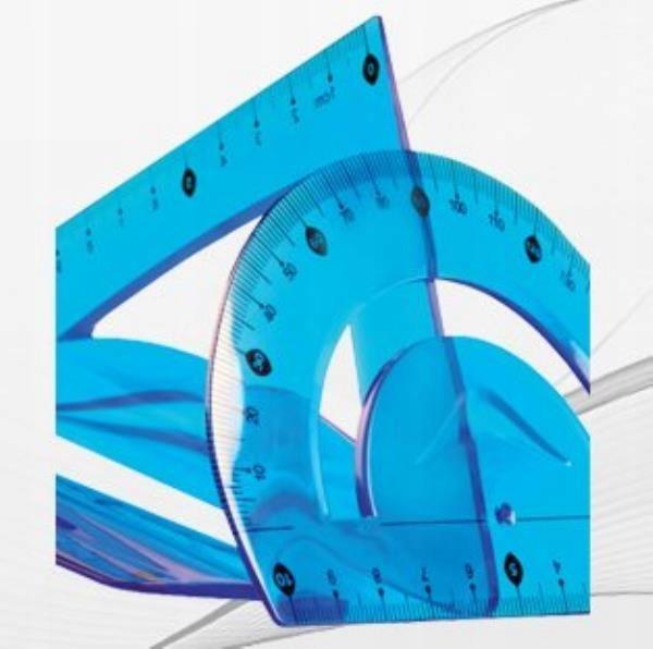 Zestaw geom.elastyczny 3el niebieski. TETIS