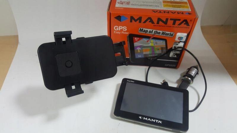NAWIGACJA MANTA GPS520