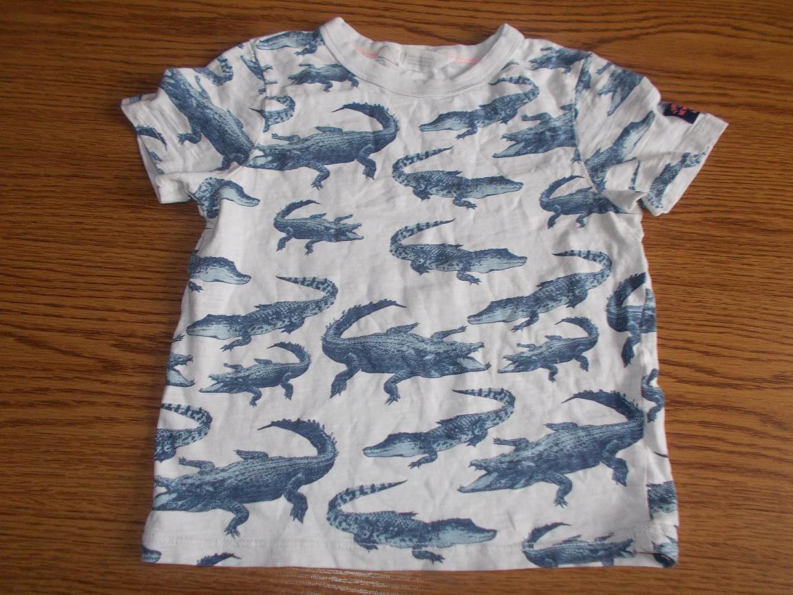H&M bluzeczka w aligatory 116cm