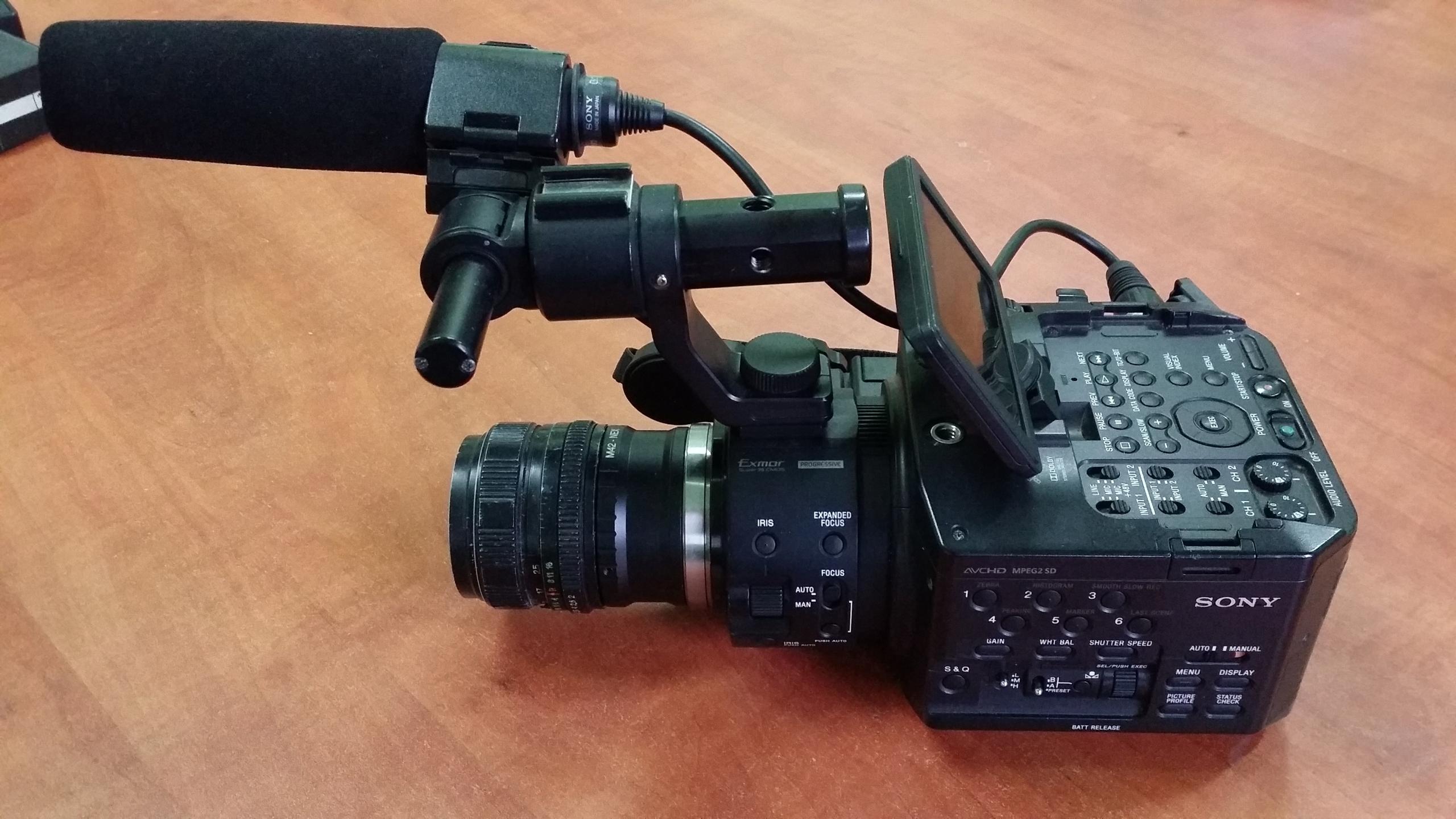 Kamera Sony NEX-FS100 GWARANCJA 6msc