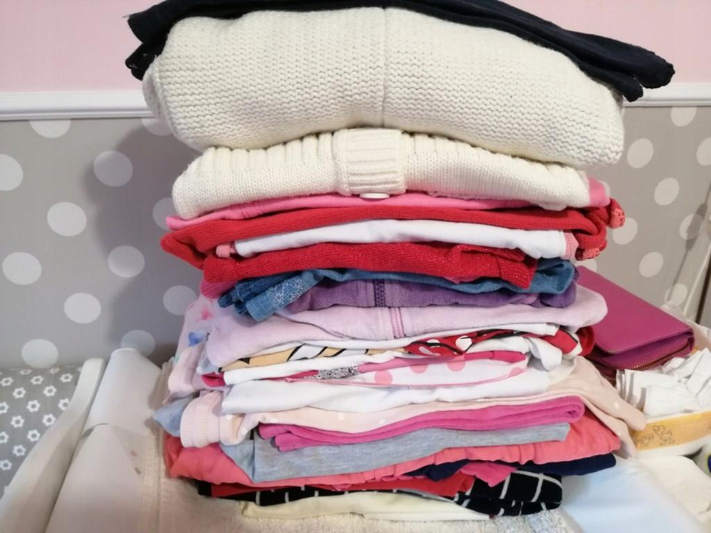 paka ubranka dla dziewczynki 80-86