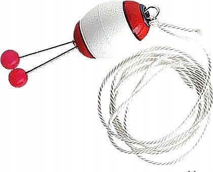 Jaxon Sygnalizator brań Bombka biało-czerwony (aj-