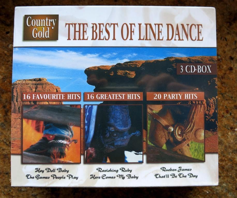 COUNTRY GOLD 3CDBox 52 WSPANIAŁE HITY Same Gwiazdy