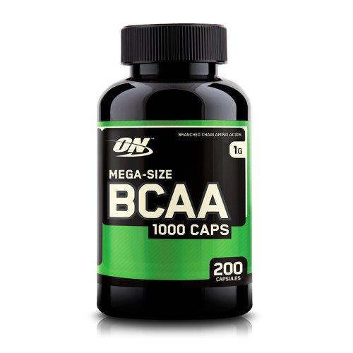 OPTIMUM NUTRITION BCAA 1000 200caps MOCNE BCAA !!!