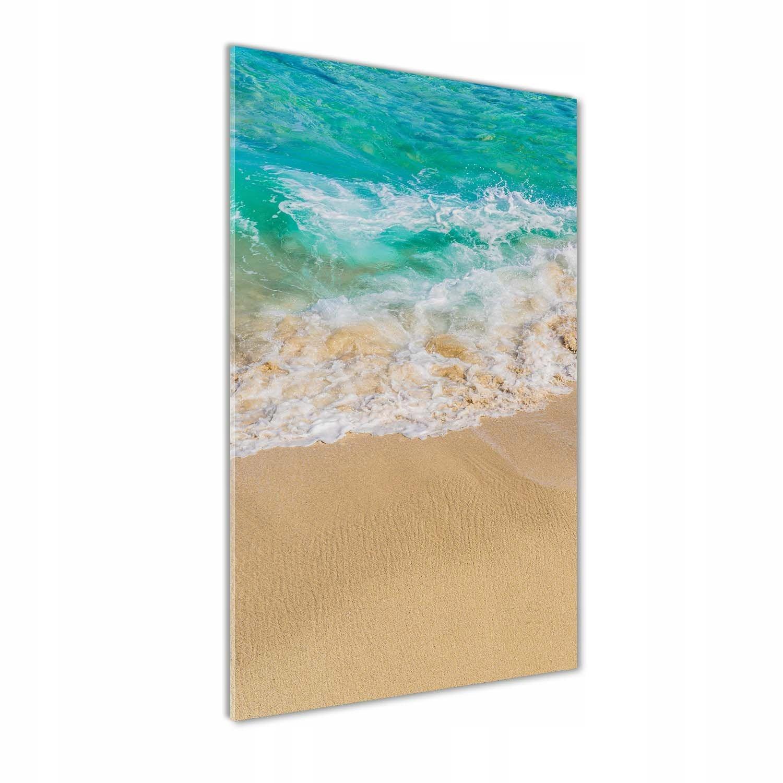 Foto obraz szkło hartowane Plaża i morze 70x140 cm