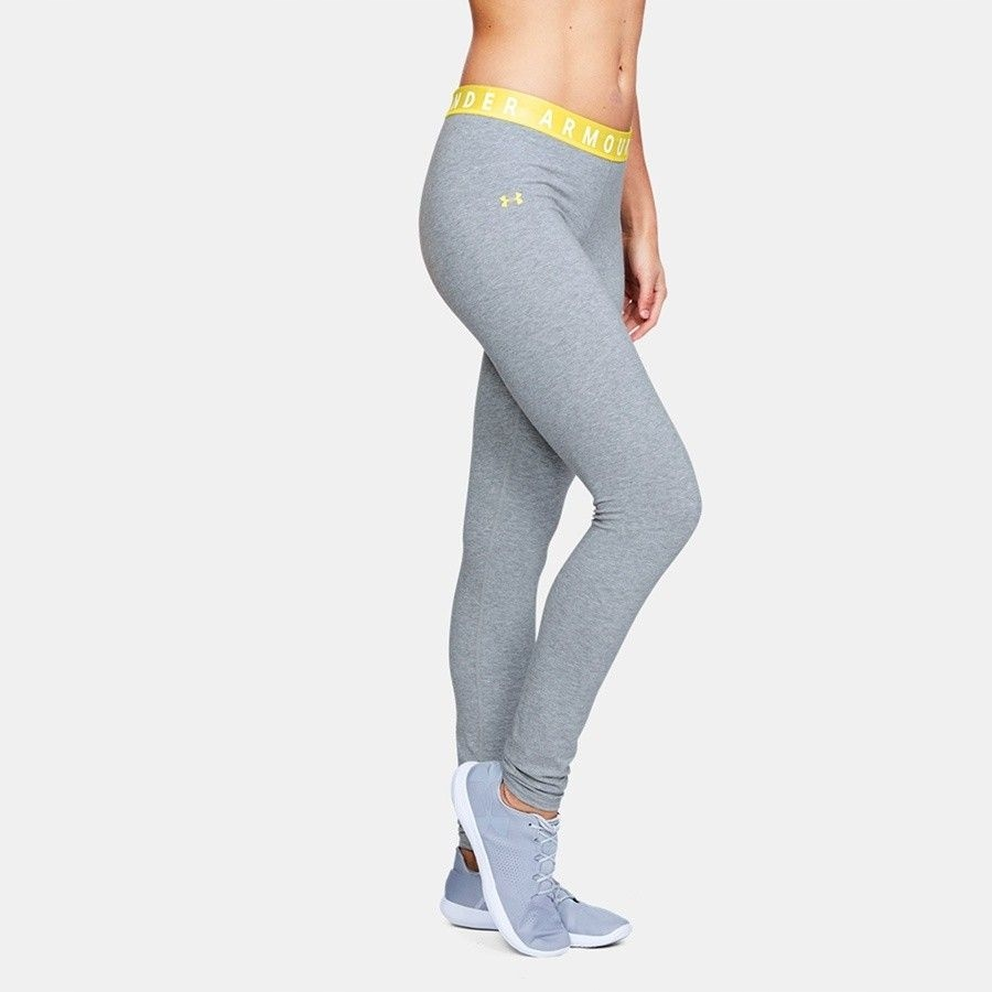Spodnie UA Favorites Legging 1311710 035 SZARY; M