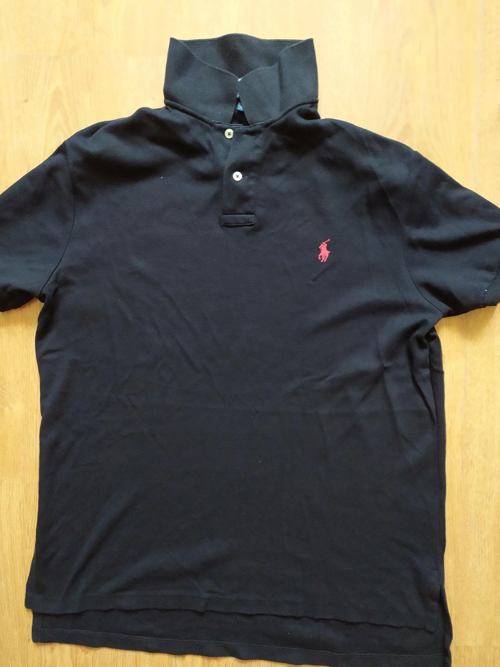 koszulka polo Ralph Lauren Custom fit L jNOWY