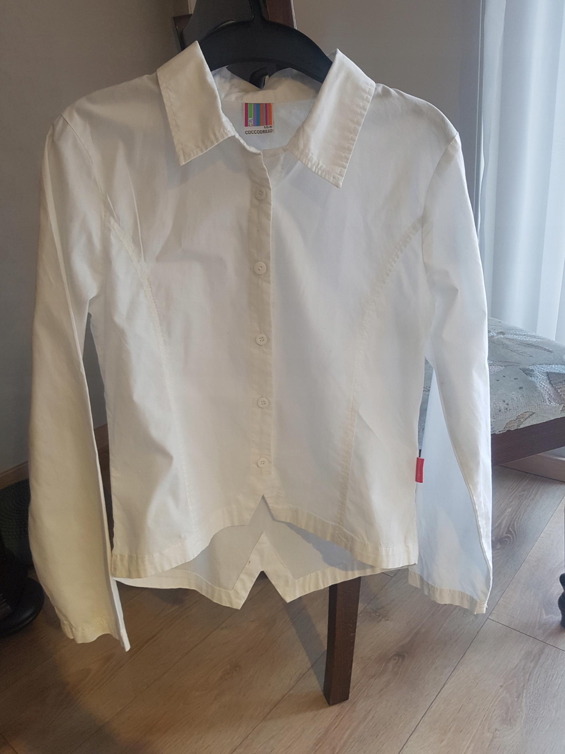 Elegancka dziewczęca koszula coccodrillo 158 cm