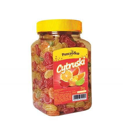 Landrynki Cytruski- słoik 3kg
