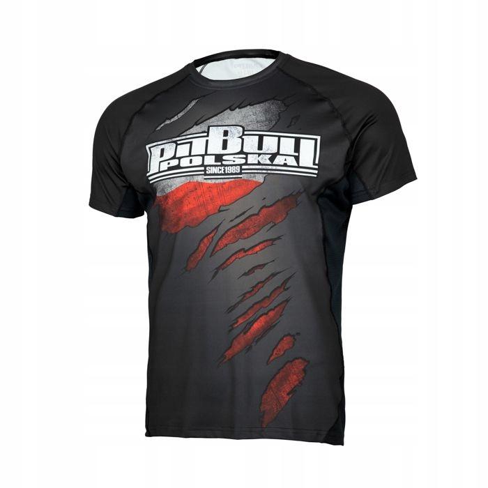 pit bull mesh rash rashguard t-shirt POLSKA S