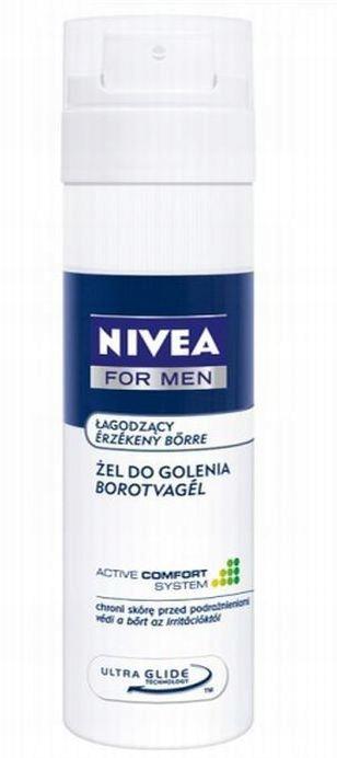 NIVEA MEN żel do golenia SENSITIVE wrażliwa 200ml