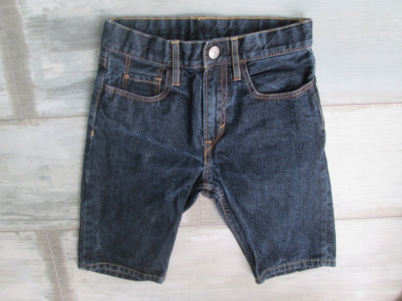 ZARA___szorty spodenki jeans bermudy__152 12