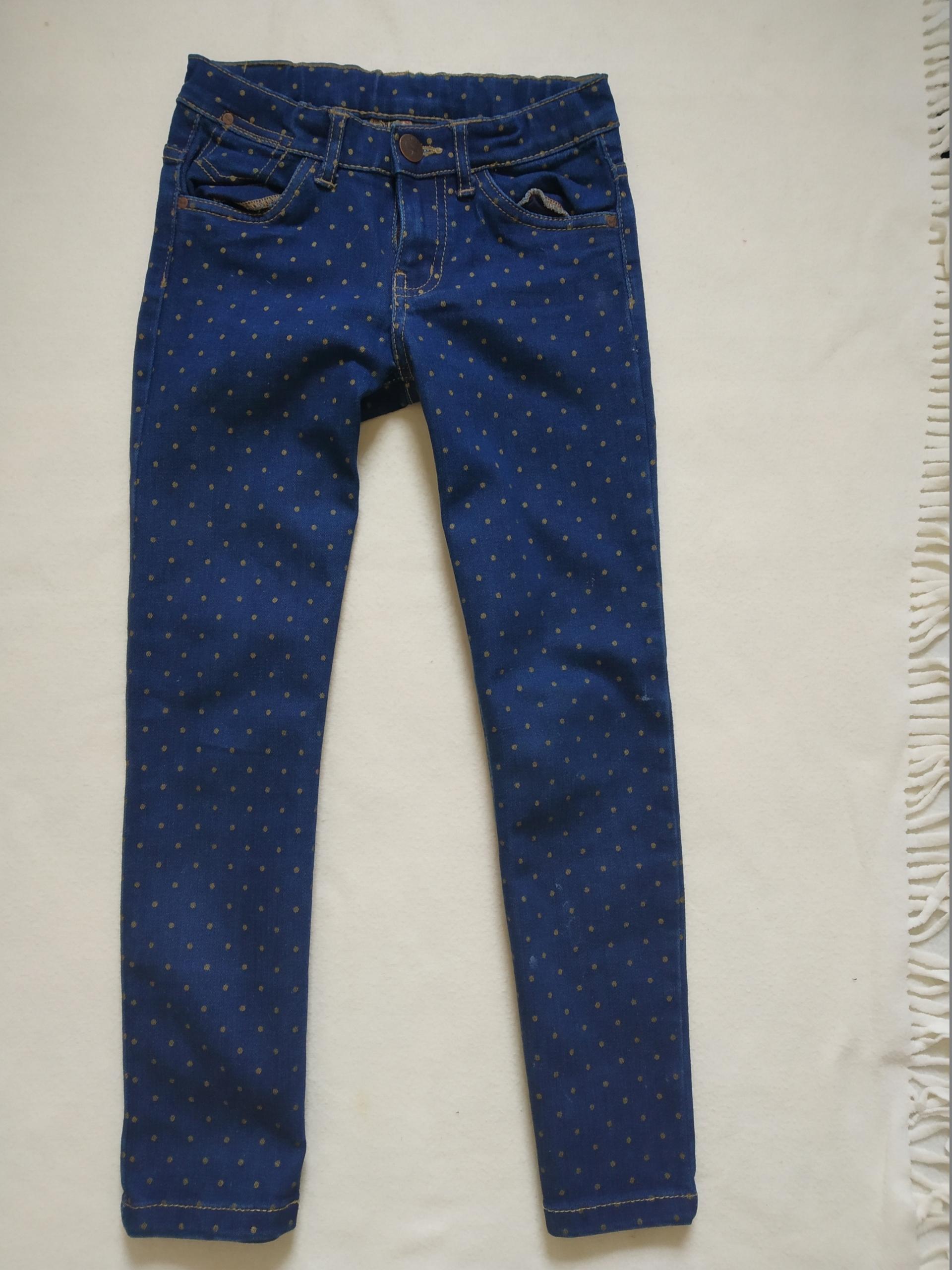 Cool Club spodnie jeansowe dżinsowe 128