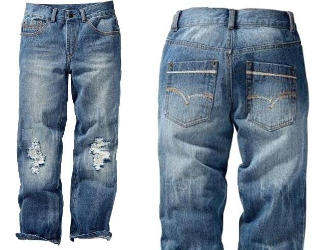 SMD0061 B.P.C. BONPRIX jeansy 170cm / 15lat blue+