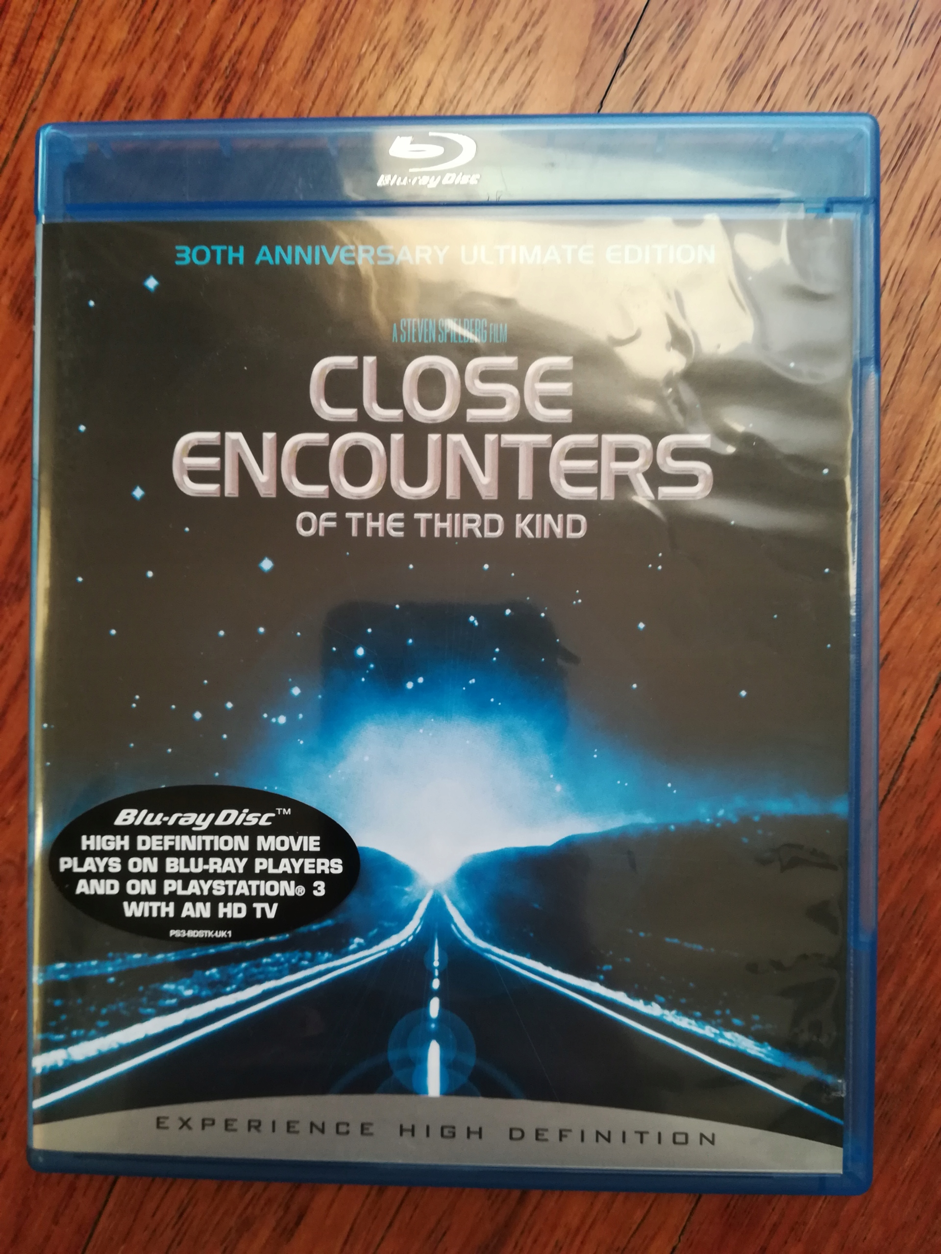 Close Encounters of The Third Kind, Blu-ray, ENG