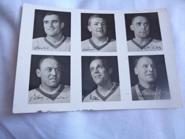 Pocztówka hokej na lodzie 1964 CSSR 8