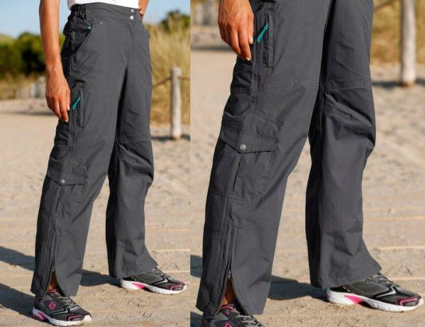 Spodnie SOFTSHELL pas 110 cm szare