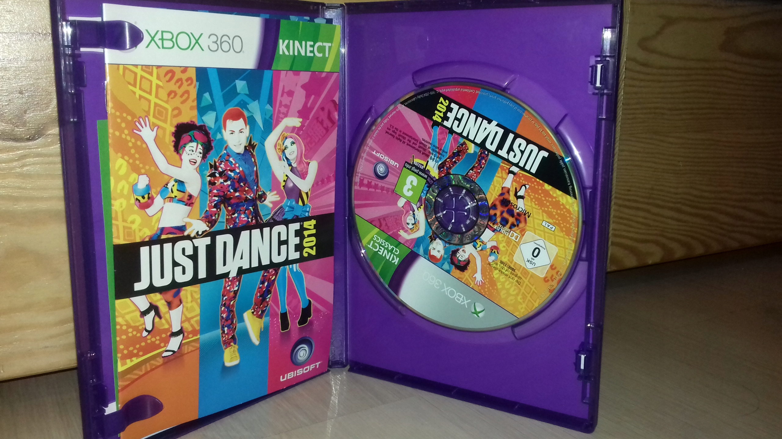 Gra xbox 360 Just dance 2014 kinect