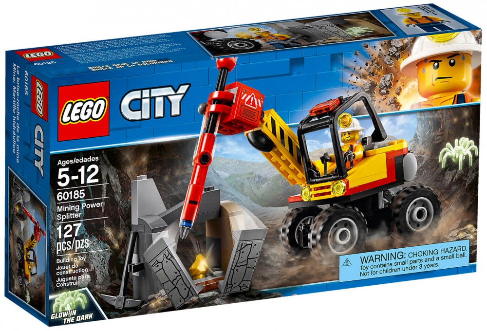 Lego City 60185 Kruszarka Górnicza Katalog 2018 7129061408