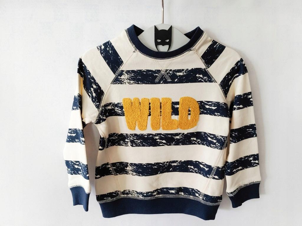 Bluza w tym pasy WILD KappAhl 86/92