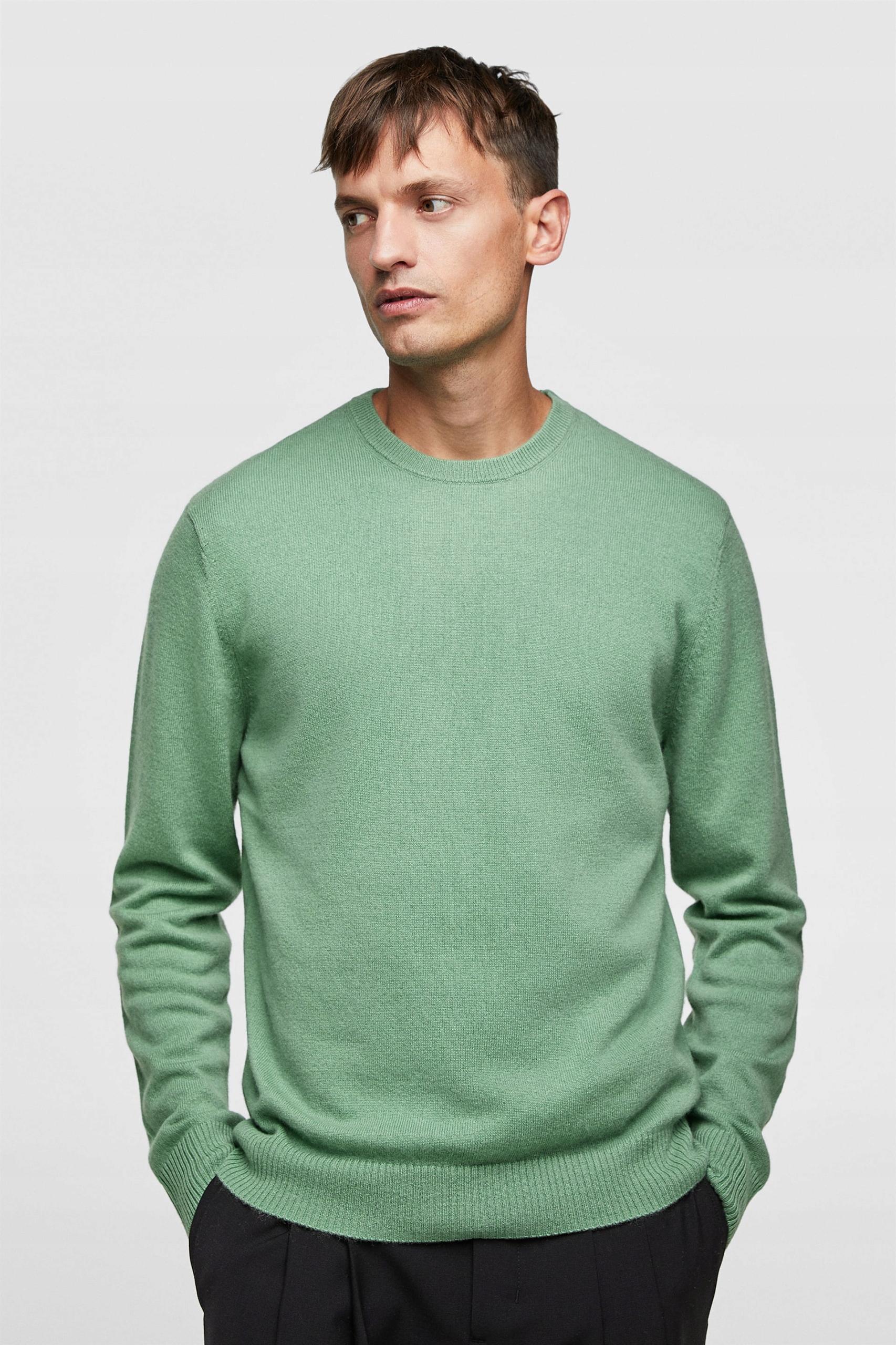 Sweter 100% kaszmir ZARA M nowy