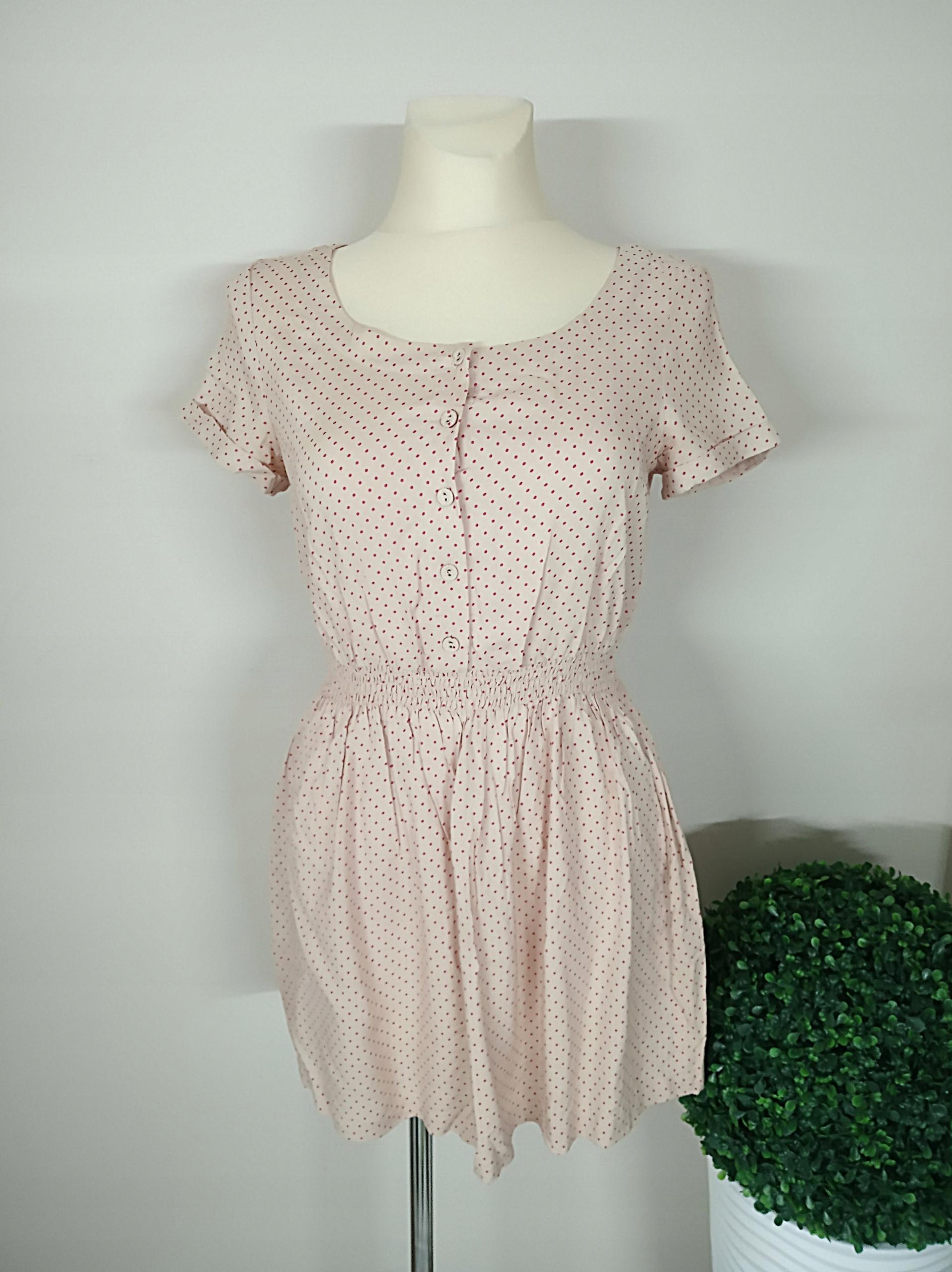 sukienka WIOSNA LATO KROPKI 38 M
