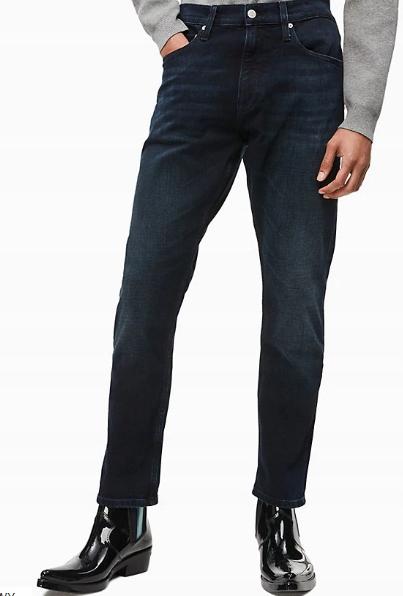 Calvin Klein NOWE Spodnie Jeansy męskie 40/34