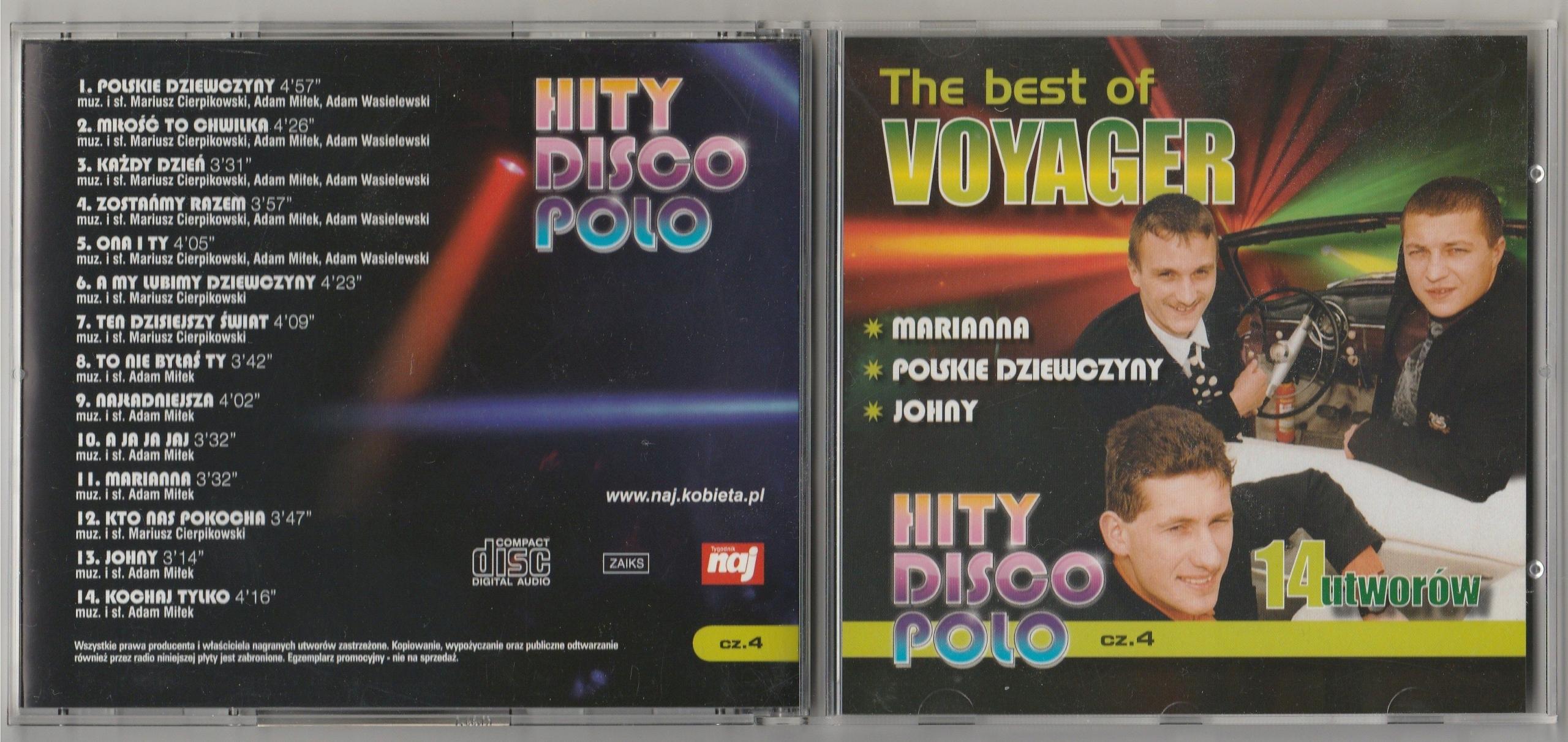 VOYAGER The Best Of CD 2008 naj 14 HITS SUPER STAN