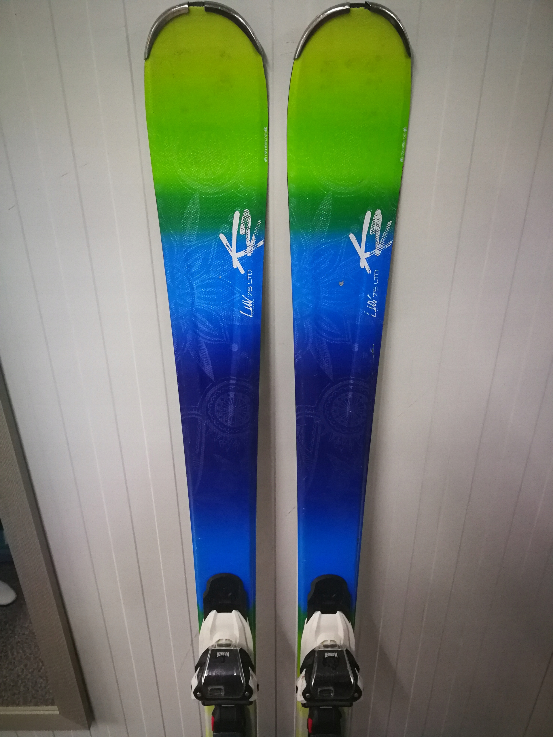 K2 LUV 75 LTD + M10 156 cm