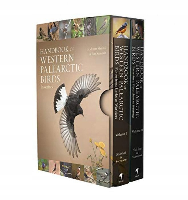 Hadoram Shirihai Handbook of Western Palearctic Bi